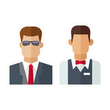 Security man vector illustration. Royalty Free Stock Photos