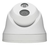 Security Mini Dome camera Royalty Free Stock Photography