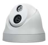 Security Mini Dome camera Royalty Free Stock Image