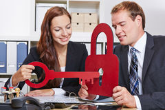Security in the office Stock Images
