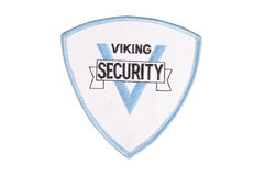 Security officer uniform shoulder patch Royalty Free Stock Photos