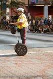 Security Officer Uses Segway At Atlanta Dragon Con Parade Stock Photos