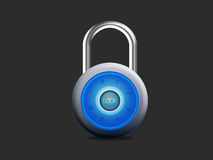 Security padlock Royalty Free Stock Photography