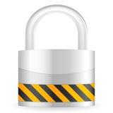 Security padlock Stock Photos