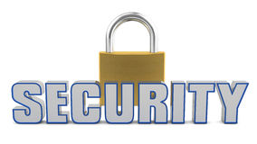 Security padlock Stock Photography