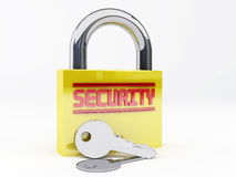 Security padlock Royalty Free Stock Image