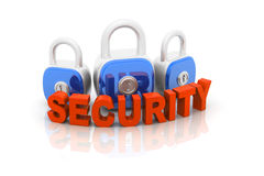 Security Padlock Royalty Free Stock Images