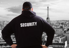 Security in Paris Stock Photography