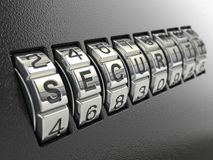 Security password combination concept, Stock Photography