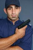 Security Personnel Stock Photo