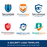 Security - Protection Logo Template Design Vector Royalty Free Stock Images