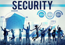 Security Protection Networking Risk Assessment Concept Stock Photos