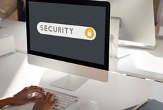 Security Protection Safety Privacy Concept. Security Protection Safety Privacy Technology Stock Photo