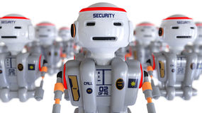 Security robot Royalty Free Stock Photos