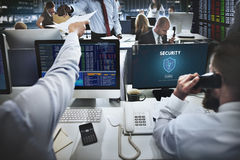 Security Safety Data Protection Concept Stock Image
