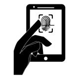 security or safety related icons image Stock Photography