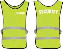 Security safety vest Stock Photography