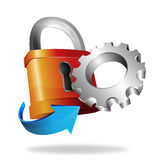Security setting Stock Images