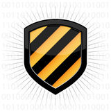 Security Shield royalty free stock photos
