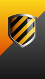 Security shield guard protection Stock Images