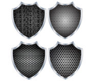 Security shield metal Stock Photo