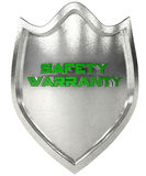 Security shield steel Royalty Free Stock Photos