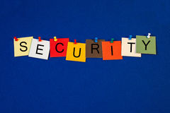 Security - sign series for business. Stock Photography