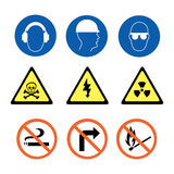 Security Signs Stock Photography