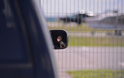 The security of the small airport Stock Photo
