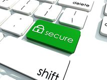 Security solutions Royalty Free Stock Photos