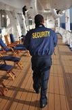 Security staff patrolling Royalty Free Stock Photography