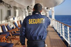 Security staff Royalty Free Stock Image