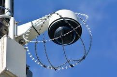 Security surveillance camera Stock Photo