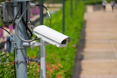 Security surveillance camera Stock Images