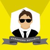 Security and surveillance system Stock Photos