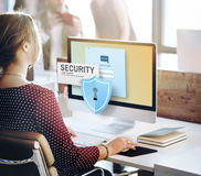 Security System Access Password Data Network Surveillance Concep. T Stock Photography