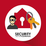 Security system desgin Stock Images