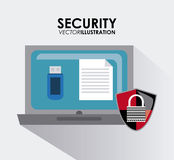 Security system desgin Royalty Free Stock Photography