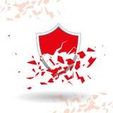 Security system design vector illustration