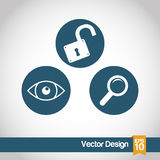 Security system design Royalty Free Stock Photo