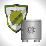 Security System design Stock Images