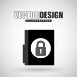 Security system design. Illustration eps10 graphic Stock Photos