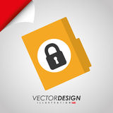 Security system design. Illustration eps10 graphic Royalty Free Stock Photos