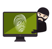 Security system design Royalty Free Stock Photos