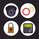 Security system design Royalty Free Stock Photography
