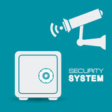 Security system design. Royalty Free Stock Photography