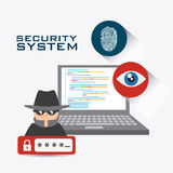 Security system design. Stock Photos