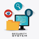 Security system design. Stock Images