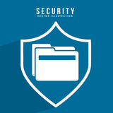 Security system. Design, vector illustration eps10 graphic Stock Photo