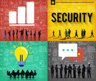 Security System Networking Privacy Protection Concept Royalty Free Stock Image